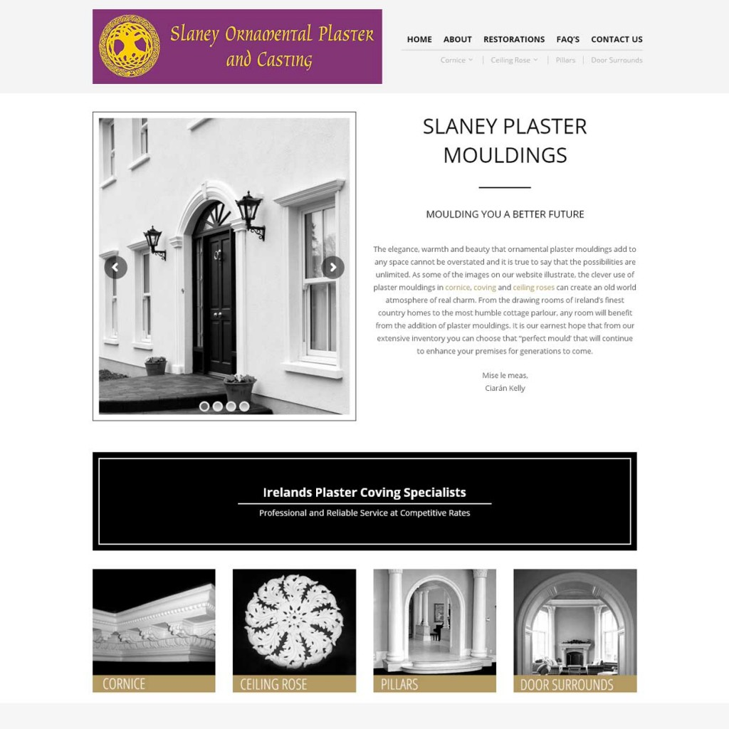 Slaney Ornamental Plaster and Casting