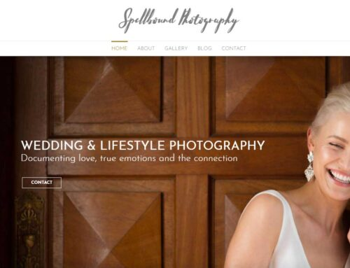 Spellbound Photography – Launch of Website
