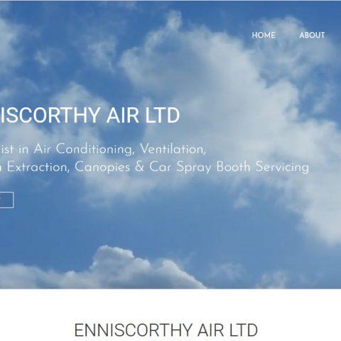 Enniscorthy Air Blackstairs Web Design